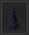 An ultima online Stone Spike - Large